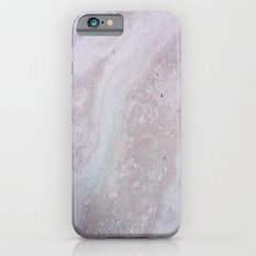 Elegant Pink Polished Marble Slim Case iPhone 6s