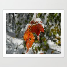 The Last of Autumn 3 Art Print