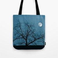 Full Moon 11-8-11 Tote Bag