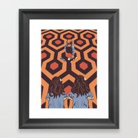 The Shining Room 237 Dan… Framed Art Print