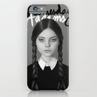iPhone & iPod Case featuring Wednesday Addams by Albert Lee