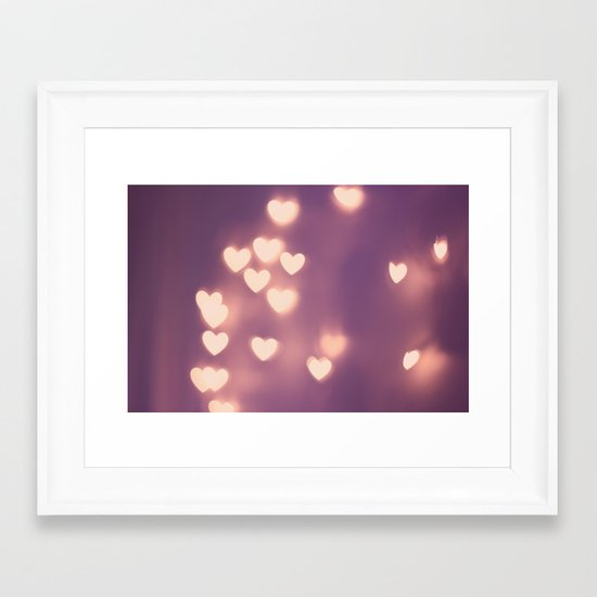 Your Love is Electrifying Framed Art Print