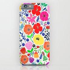Flower Garden iPhone 6 Slim Case