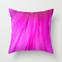 Strands III Throw Pillow