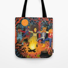 The Spirits of Autumn Tote Bag