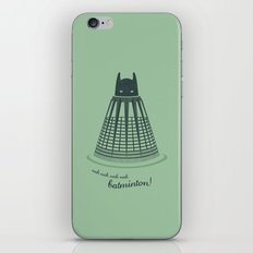 Batminton iPhone & iPod Skin