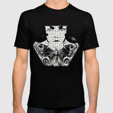 fragile Mens Fitted Tee SMALL Black