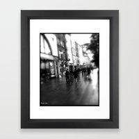 Streets Of Dublin Framed Art Print