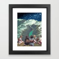 FIELD TRIP Framed Art Print