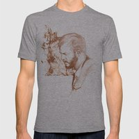 Bon Iver (Justin Vernon) Mens Fitted Tee Athletic Grey SMALL