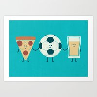 Dream Team Art Print