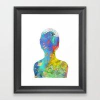 Ocean Thoughts Framed Art Print