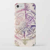 mandala iPhone & iPod Cases featuring Voyager II by Jenndalyn