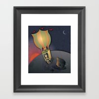 Flying Away With The Cir… Framed Art Print
