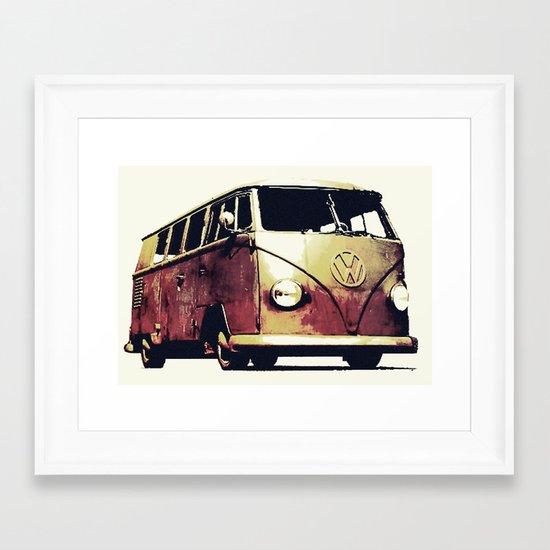 Dak Dak Framed Art Print