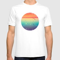 Lapse In Perception Mens Fitted Tee White SMALL