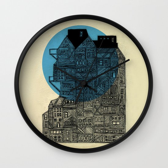 Night vision Wall Clock