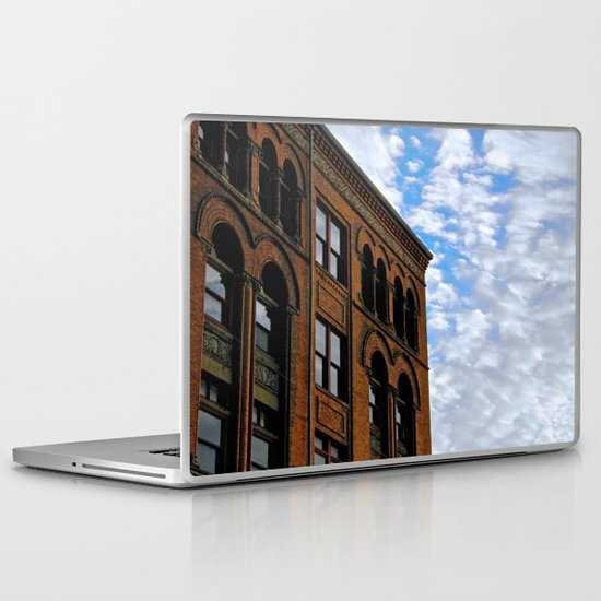 Corner of Main St. & Sky Laptop & iPad Skin