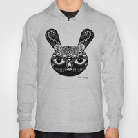Day Of The Dead Bunny Hoody