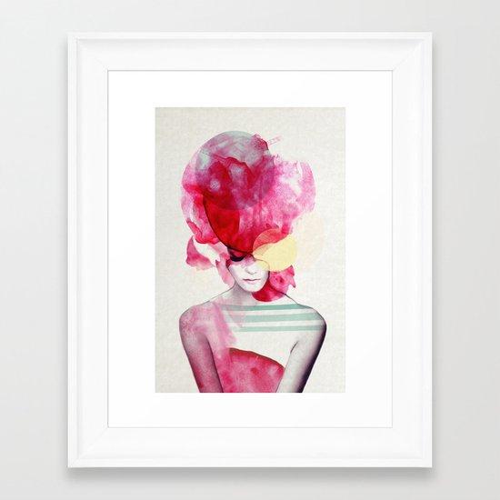 Bright Pink - Part 2  Framed Art Print