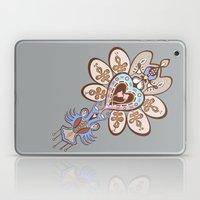 Flowering Heart Laptop & iPad Skin