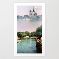 Notre Dame, Paris Art Print