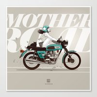 The Mother Road Canvas Print