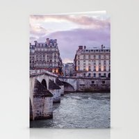 Le Pont Royal, Paris. Stationery Cards