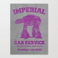 Imperial Car Service Canvas Print