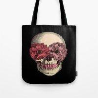 Flower Eyes Tote Bag