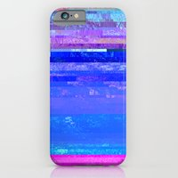 iPhone & iPod Case featuring Glitch Forest by kathomsart