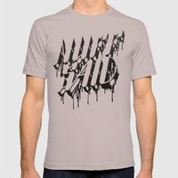 NUFF SAID Mens Fitted Tee Cinder SMALL