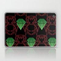 Emeralds & Demons [BLACK] Laptop & iPad Skin
