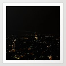 Starry Nights:Paris 3 Art Print