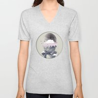 Contemplating Dome Unisex V-Neck