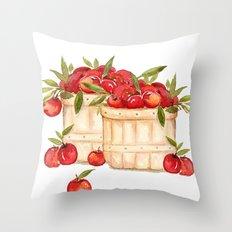 Apple Harvest  Throw Pillow