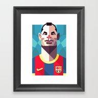 AI8   Blaugrana Framed Art Print