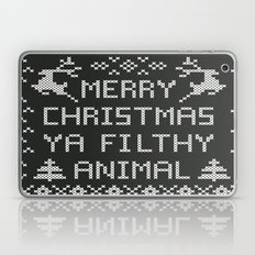 Merry Christmas Ya Filthy Animal Laptop & iPad Skin
