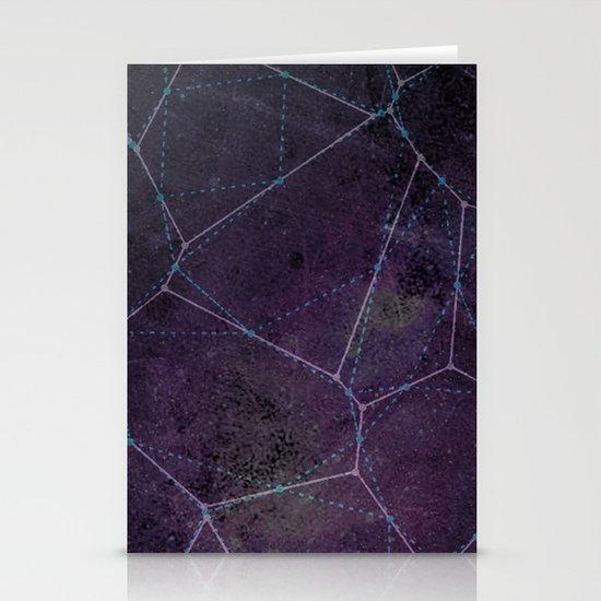voronoi Stationery Card