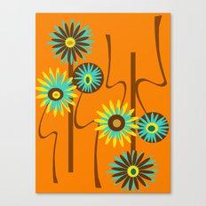 Mod Flowers Alastair Canvas Print