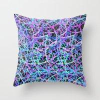 Informel Art Abstract G54 Throw Pillow