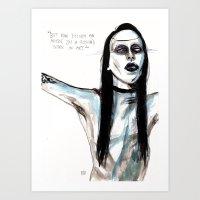 Now I'm Not An Artist / … Art Print