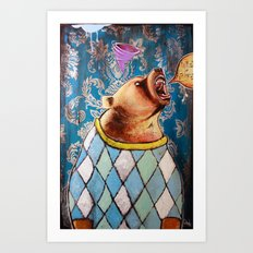 Apex in Argyle Art Print