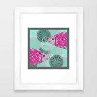 Indian Fish Framed Art Print