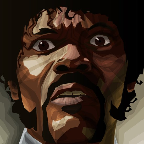 Pulp Fiction - Jules Winnfield Art Print