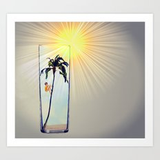 MixMotion: Florida Highballs Art Print