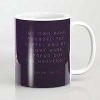 Isaiah 48:13 Mug