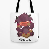 Monstrous Collab Tote Bag