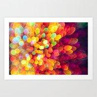 Light And Shimmer Art Print