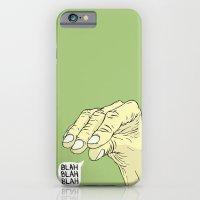 iPhone & iPod Case featuring Blah Blah Blah by Maciek Szczerba